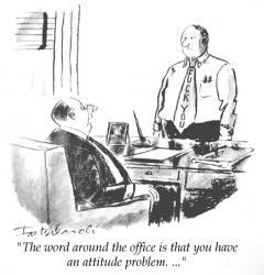 Attitude at work