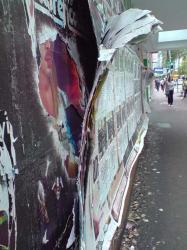 Peeling Posters Sydney CBD