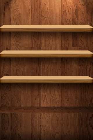 IPhone Wallpaper Bookshelf