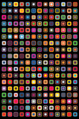 Disruption Pattern U2013 Free IPhone Wallpaper