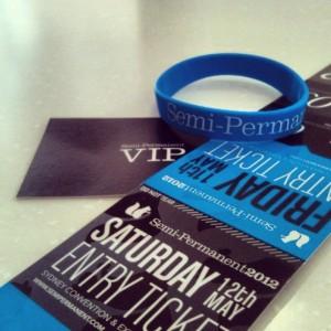Semipermanent VIP tickets