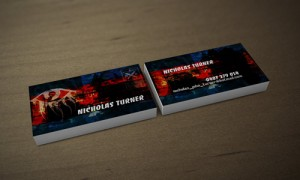 Business Card Design - Self Promotion Nicholas Turner