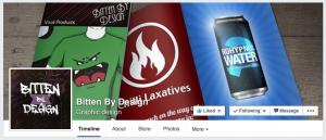 Bitten By Designs Facebook Page