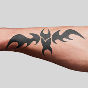 Tribal Tattoo Design – Bat