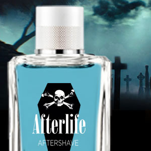 Afterlife Aftershave – A Cologne specifically made for the Undead